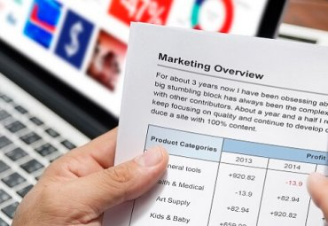 Marketing Overview Research Analysis Concept
